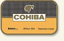 cohiba cigars of cuba