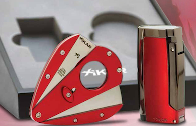 Xikar Cigar Cutter Pulsar Red Edmonton