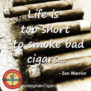 cigar quote life is short