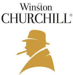 winston churchill cigar logo
