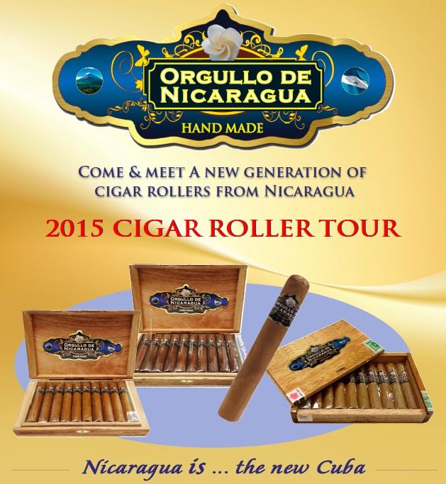 Cigar Roller 2015 Tour Poster Edmonton