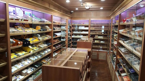 West Edmonton Cigar Shop Humidor
