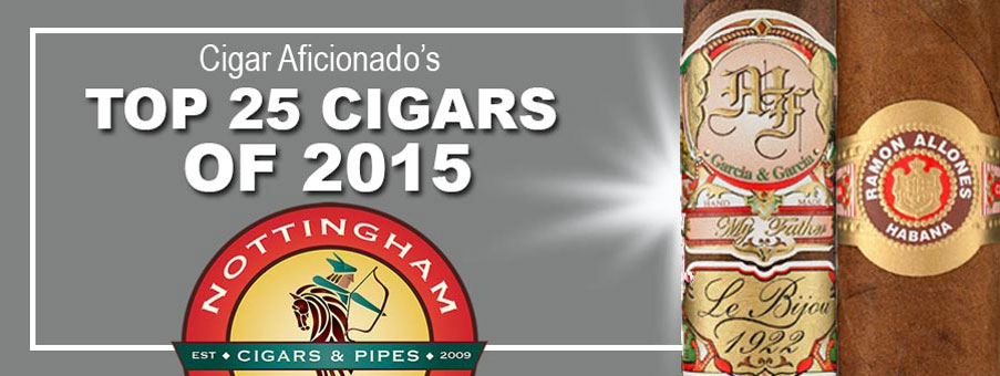 Top 25 Cigars of 2015 Edmonton
