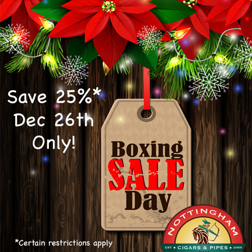 boxing day cigar sale