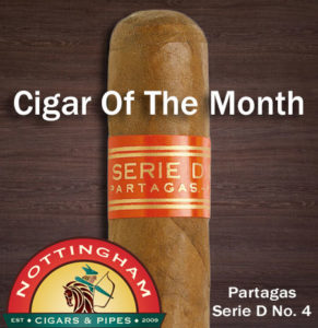 Partagas Serie D No. 4 – February's Cigar Of The Month